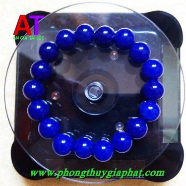 Vòng đeo tay đá mã não xanh