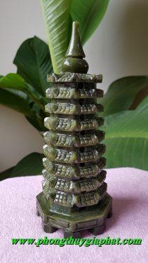 Tháp văn xương ngọc lam (Ngọc Serpentine)