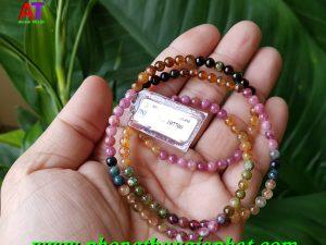 Vòng đeo tay dây đá Tourmaline