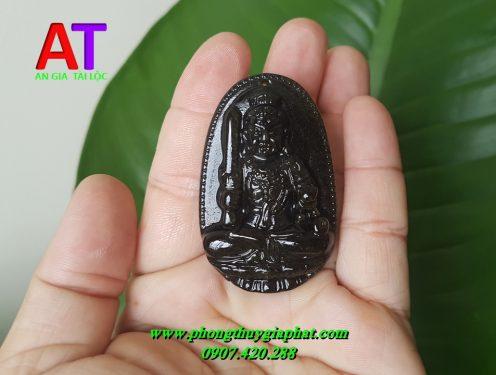 Phật bản mệnh đá núi lửa (Obsidian)
