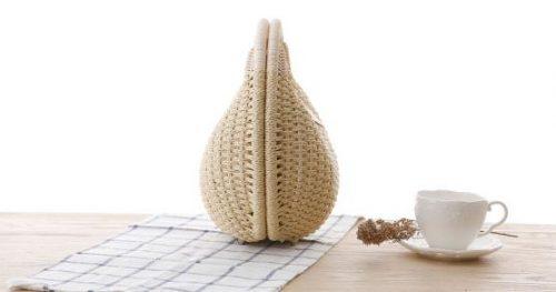 Túi cói thời trang vỏ sò